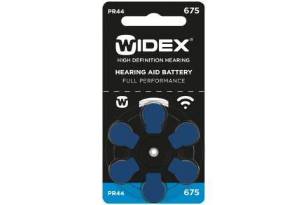 Baterie Widex 675 (6 ks)