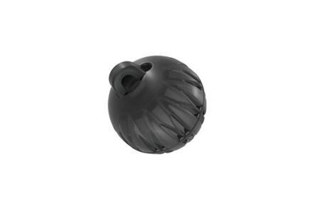 Koncovka kulatá (1 vent, velikost S, průměr 8 mm)
