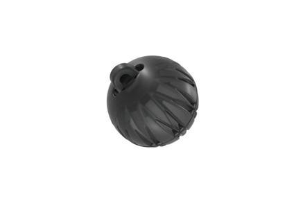 Koncovka kulatá (2 venty, velikost S, průměr 8 mm)