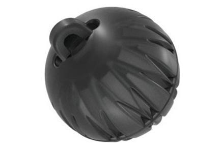 Koncovka kulatá (2 venty, velikost L, průměr 12mm)