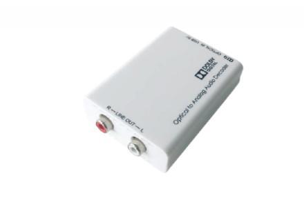 TV-DEX konvertor (Cinch/optika)