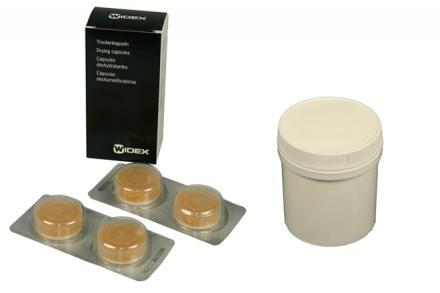 Vysušovací tablety + box (Widex)