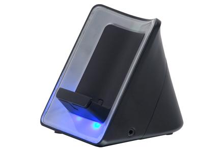 Signalizace vyzvánění mobilního telefonu (černá)