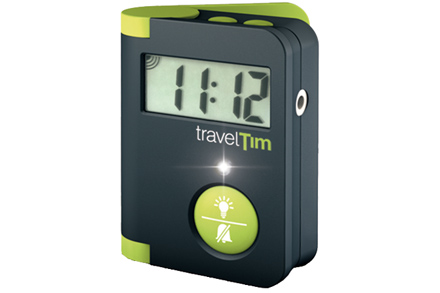 Cestovní budík TravelTim (zelená/černá)