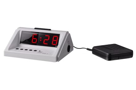 Digitální akustický budík DS-1 s vibr. polštářkem