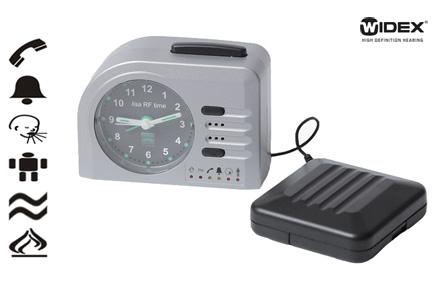 Přijímač signálů lisa RF (včetně alarmu, buzení)