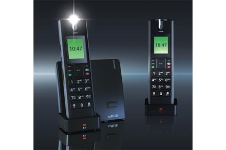 Telefon bezdrátový FreeTEL III + Bluetooth