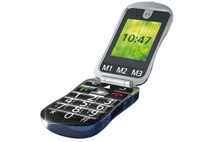 Mobilní telefon pro nedoslýchavé vegas